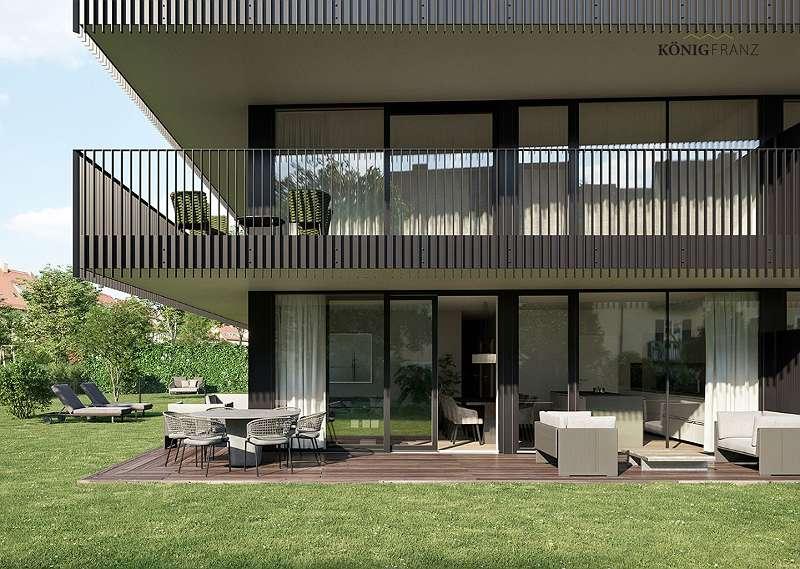 Erstbezug: 3-Zimmer Garten-Wohnung mit Komfort in Geidorf. Direkt vom Bauträger - Provisionsfrei