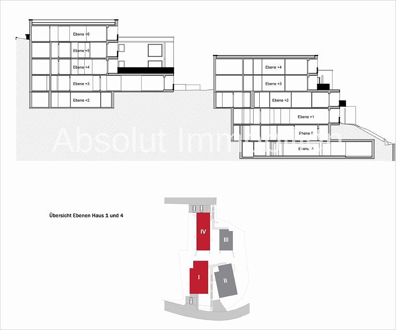 Haus 1 und 4