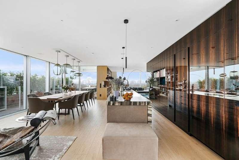 Wohnsalon Küche 1