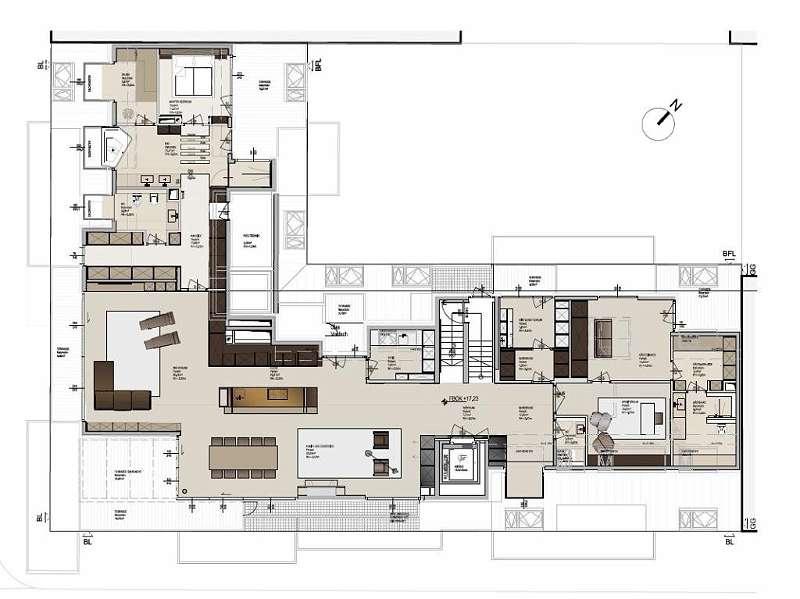 DG-Penthouse Grundriss