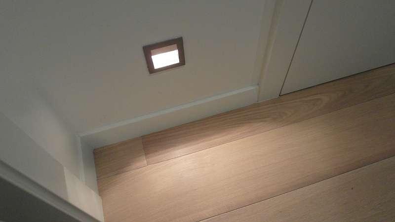 Bodenlicht Vorraum
