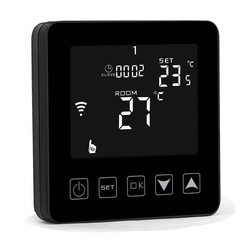 WIFI Thermostat schwarz