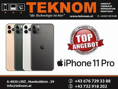 Apple iPhone 11 Pro, White, 64 GB, Neu-Originalverpackt, Frei für Alle Netze, 12 Monate Apple Garantie
