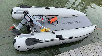 Takacat 300 LX Katamaran Schlauchboot -ideal mit Torqeedo Travel
