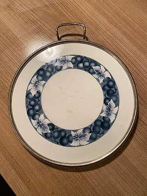 Wunderschöne Keramik Tortenplatte