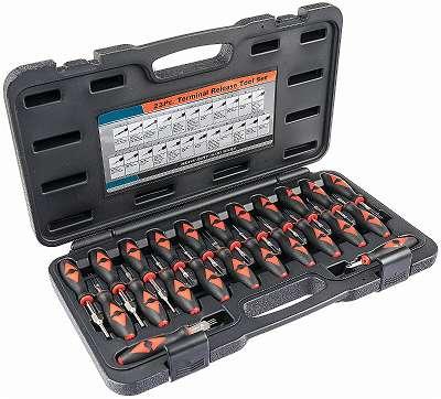 Entriegelungswerkzeug Set KfZ Auspinwerkzeug ISO-Stecker Entriegeln