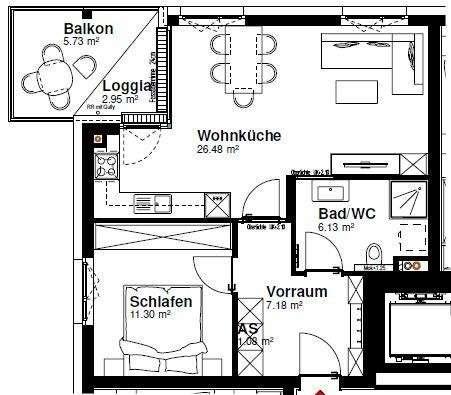 Heschgasse Haus 2 Top 19/4.OG