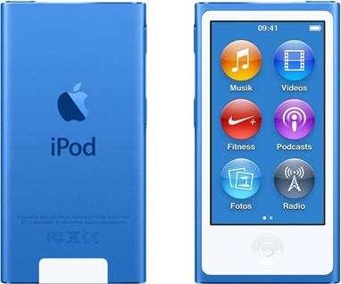IPod 32GB Blau / Zeus Mobile 1150 Wien