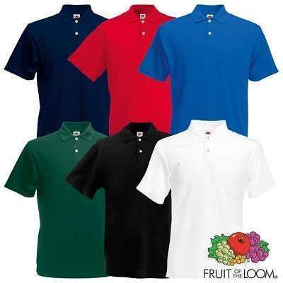 Poloshirt Fruit of the Loom