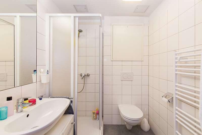 Badezimmer im 2er Apartment