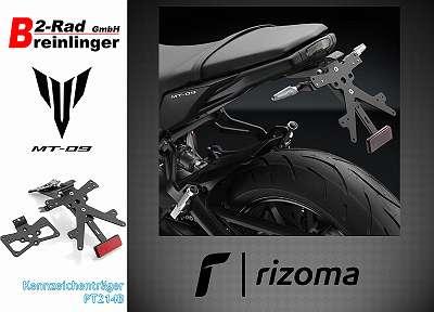 RIZOMA Kennzeichenträger FOX MT-09