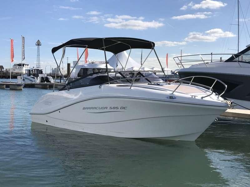 Neu Barracuda 585 DC Motorboot Elektroboot