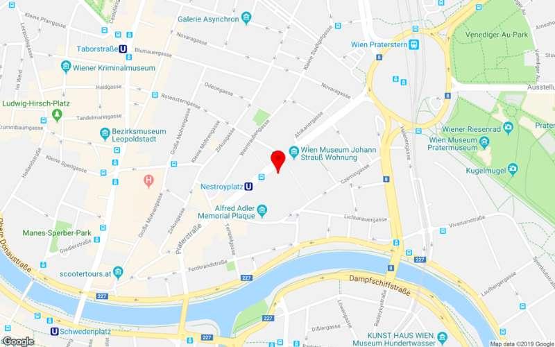 Nestroyplatz U1 - 2 Zimmerwohnung mit Fernblick 1020 Wien