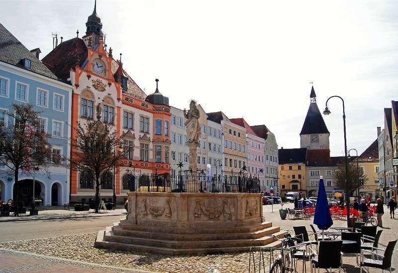 Die GRÜNE WOHNOASE im Herzen der Braunauer Altstadt