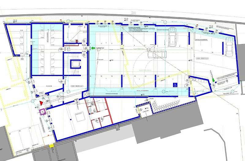 Projekt A: Erdgeschoss