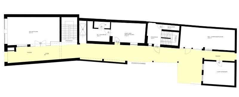 Projekt B: Erdgeschoss