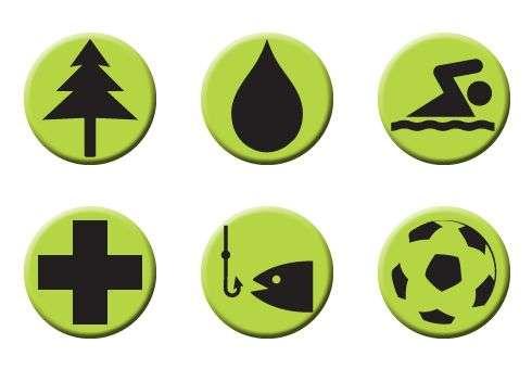 Lage-Symbole
