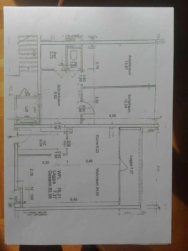 Baden, RUHELAGE, 2. Liftstock, 3 Zimmer, Grünblick, Garage