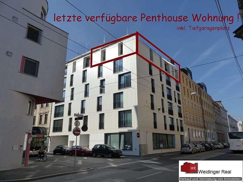 Gebäude letzte verfügbare Penthouse Wohnung