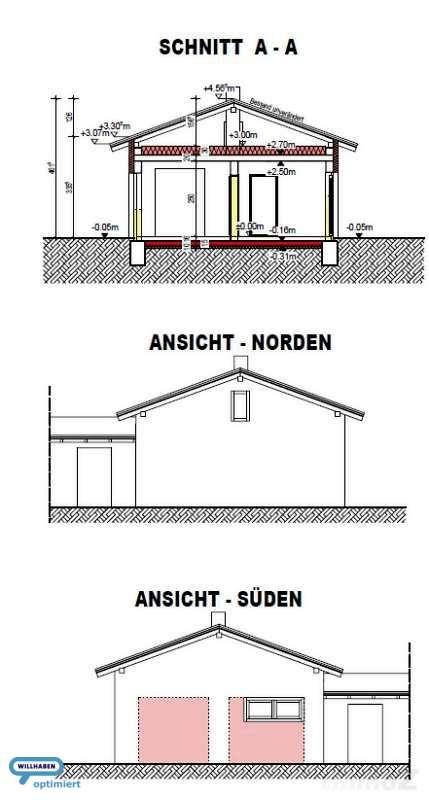 Schnitt / Ansicht