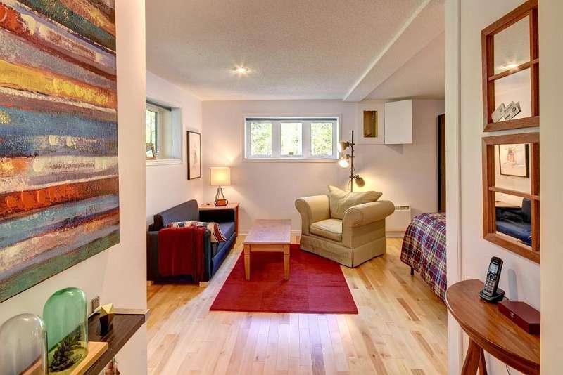 Schlafzimmer 3 mit Wohnbereich (Sofabett)
