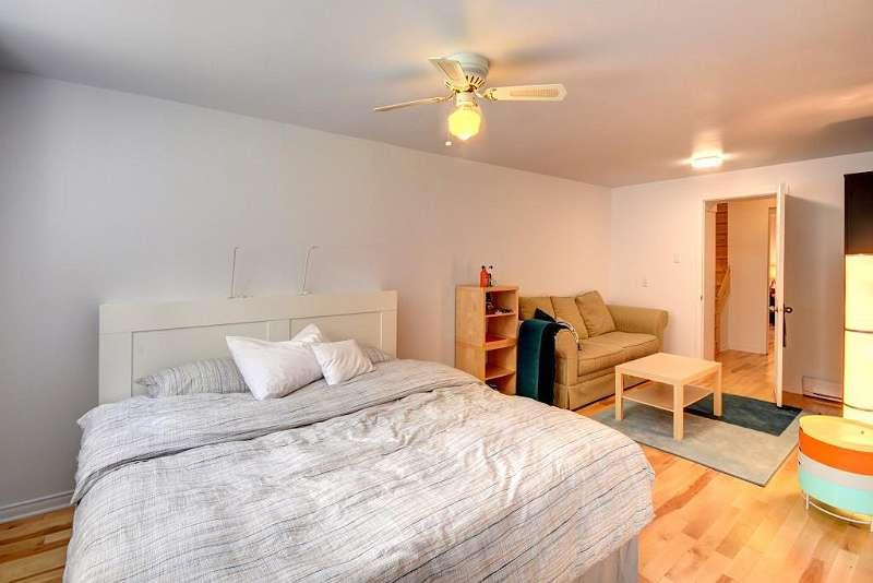 Schlafzimmer 4 mit Wohnbereich (Sofabett)