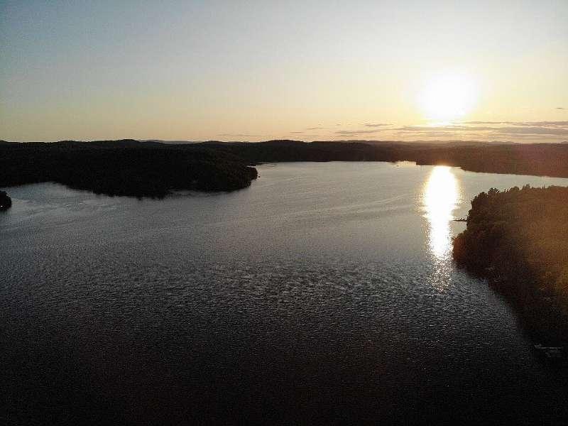 Luftbild über den Lac Chapleau