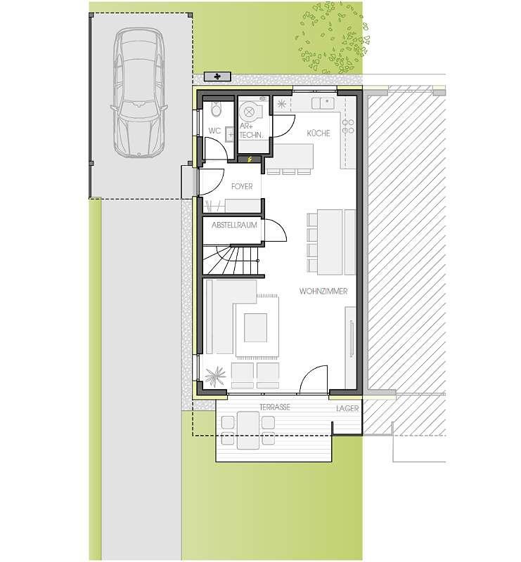 OHLSDORF Unterthalham - Doppelhaus TOP 2