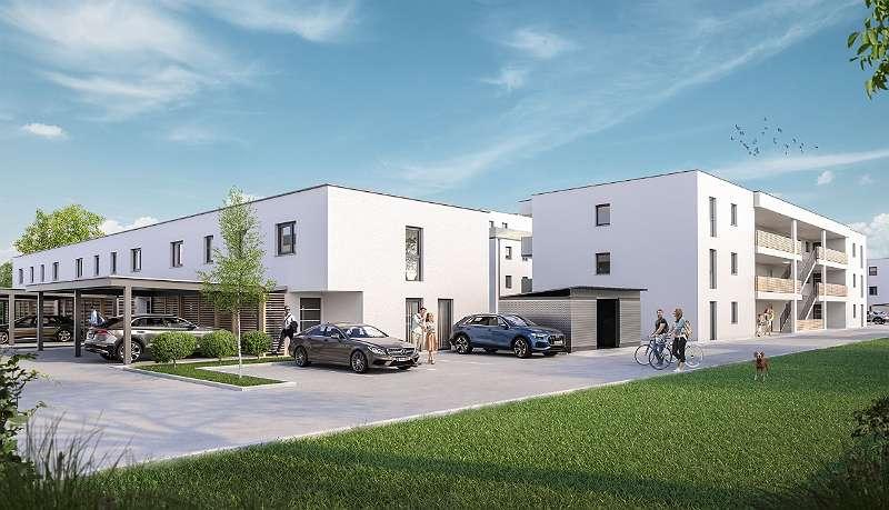 Neubezug in Werndorf (72.9 m² Neubau mit ~178 m² Garten)