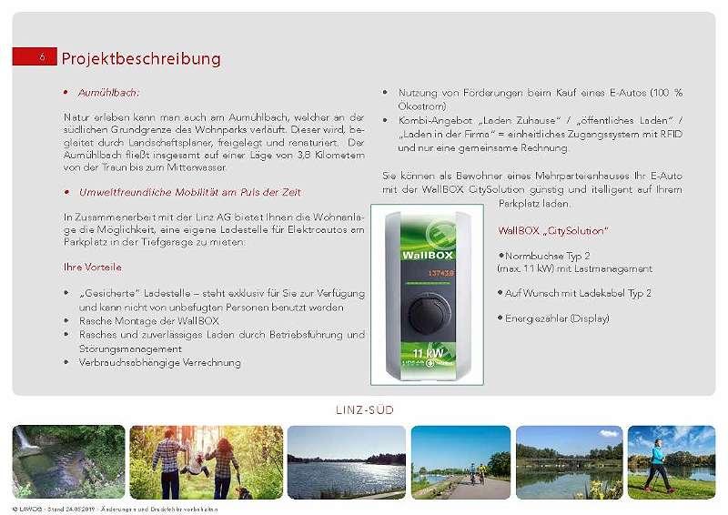 geförderte 3 Zimmer Mietwohnung in Pichling - Neubau