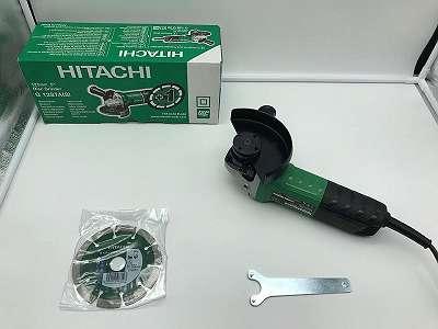 Neu: Winkelschleifer Set 125mm von Hitachi