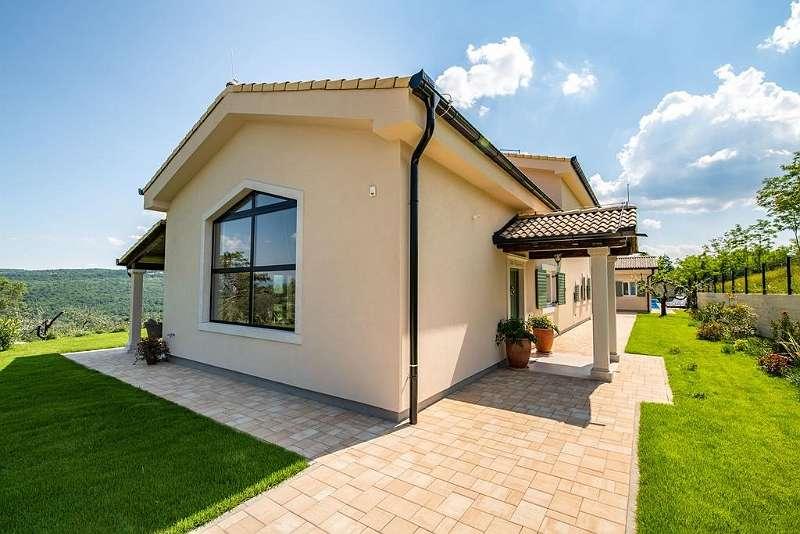 Luxus modern villa in Istrien, mit Schwimmbad und schöne Aussicht