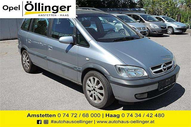 Opel Zafira Elegance 2,0 16V DTI