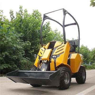 Radlader, Hoflader, Hoftrac, Kompaktlader Baumaschienen Landschaftliche, Maschinen, Mini Lader 10 PS Diesel