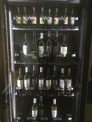Getränkeautomat - Kaltgetränkeautomat - Weinautomat Sielaff Robimat 99 für Weinflaschen