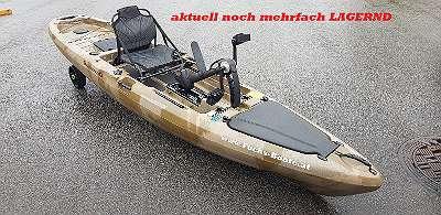 LAGERND - NEU - 2020 ALL TOP 396 Angelkajak Kajak Pedalantrieb Elektromotor Rutenhalter Staubox uvm. Tretboot Fischerkajak