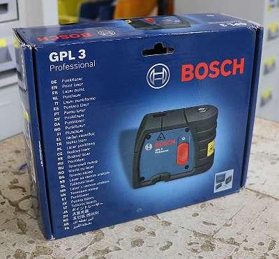BOSCH Lasergerät 3-Punkt (GPL3) inkl. Stofftasche