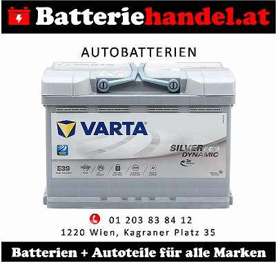 (3) Autobatterie / Starterbatterie PKW - Varta