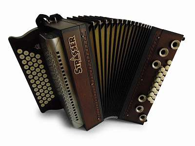 Steirische Harmonika Strasser Hoamat Asteiche