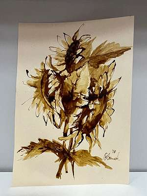 Sonnenblume - K. Clemente*