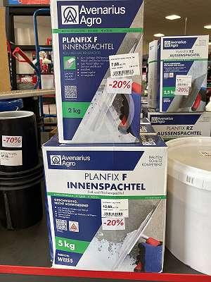 Planfix F Innenspachtel / 5510