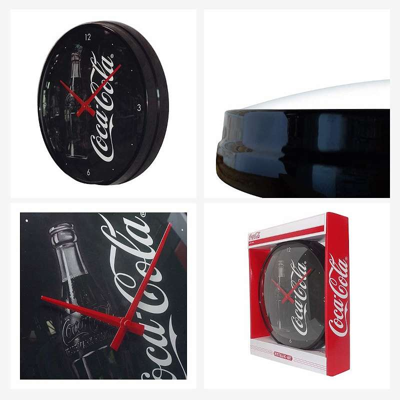Coca Cola - Sign Of Good Taste - Wanduhr - 31cm