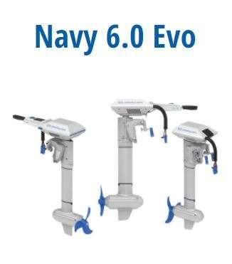 ePropulsion NAVY 6.0 EVO Kurzschaft Pinne 2021