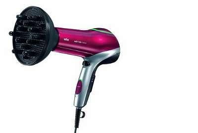 HD770 Satin Hair Color Saver+ Diffusor Schwarz-Rot