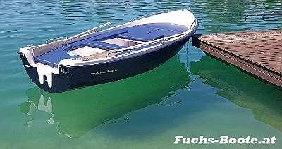 Familienboot Angelboot 430 GFK Boot Ruderboot Motorboot Elektroboot