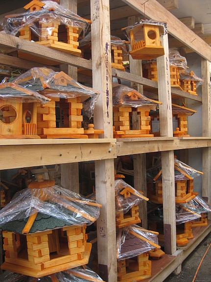 Vogelhaus XL Bitumenschindeln Vogelfutterhaus Vogel Futterhaus Neu Geschenk