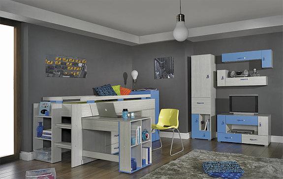 komi b jugendzimmer in verschiedenen farben f r m dchen. Black Bedroom Furniture Sets. Home Design Ideas