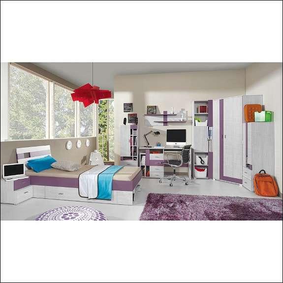 komi b jugendzimmer in verschiedenen farben f r m dchen buben und jungs 738 7012. Black Bedroom Furniture Sets. Home Design Ideas