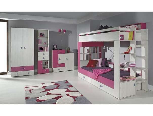 komi b jugendzimmer in verschiedenen farben f r m dchen. Black Bedroom Furniture Sets. Home Design Ideas