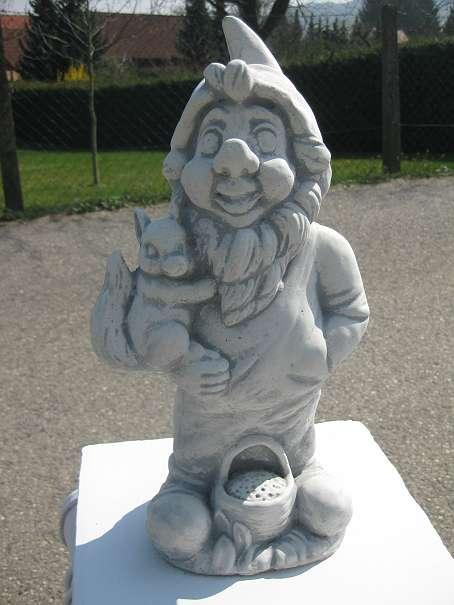Gartenzwerg viele Modelle Steinfigur massiv frostfest Zwerg Wichtel neu